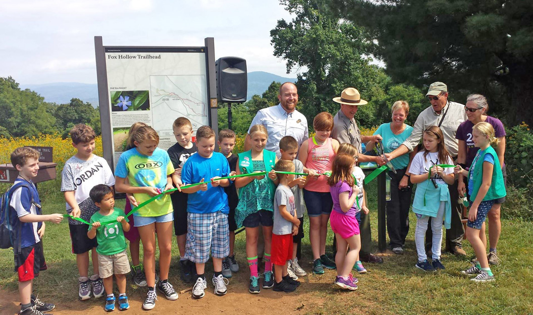 TRACK Trail opening at Shenandoah National Park