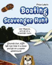 Price Lake Boating Scavenger Hunt brochure