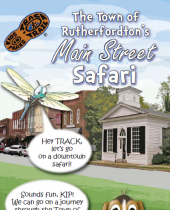 Rutherfordton Main Street Safari brochure