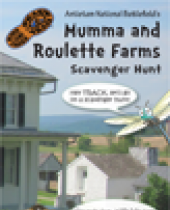 Mumma and Roulette Farms Scavenger Hunt brochure
