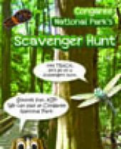 Congaree Scavenger Hunt brochure