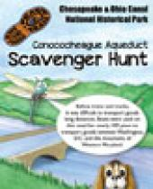 Conococheague Aqueduct Scavenger Hunt brochure