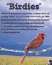 Big Sioux Birds Scorecard brochure