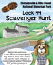 Lock 44 Scavenger Hunt brochure