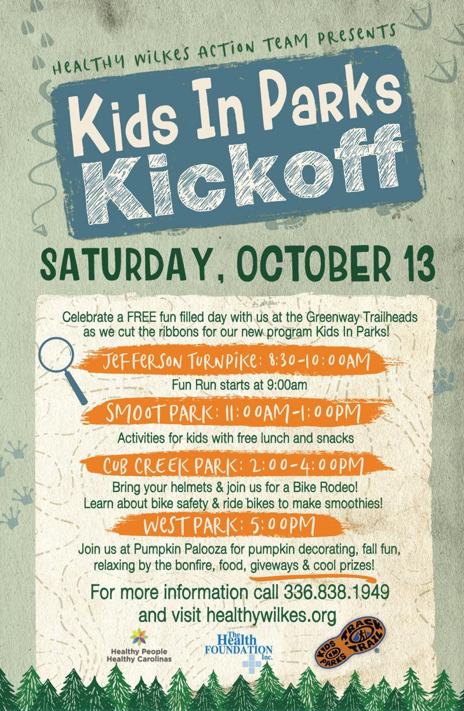 Kids in Parks Kickoff
