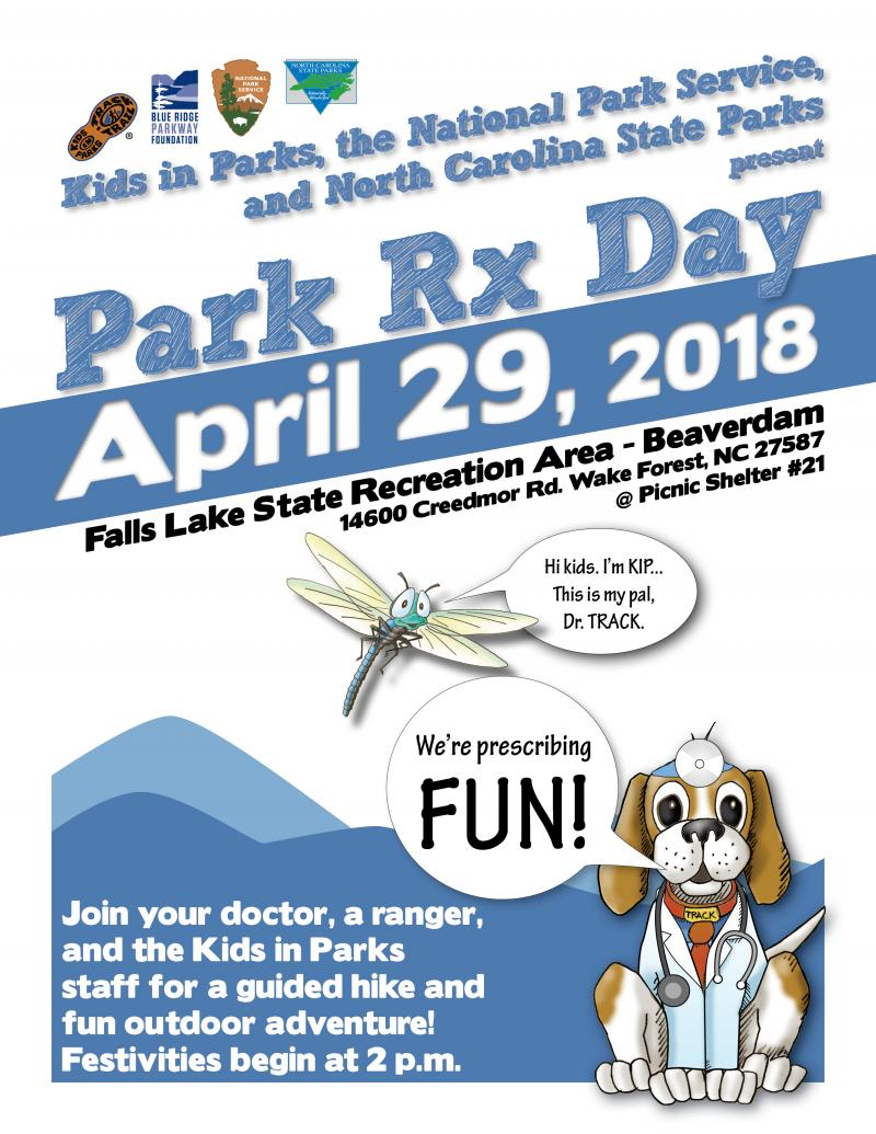Flyer for Park Rx Day