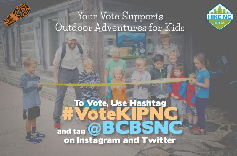 Your Vote Supports Outdoor Adventures for Kids