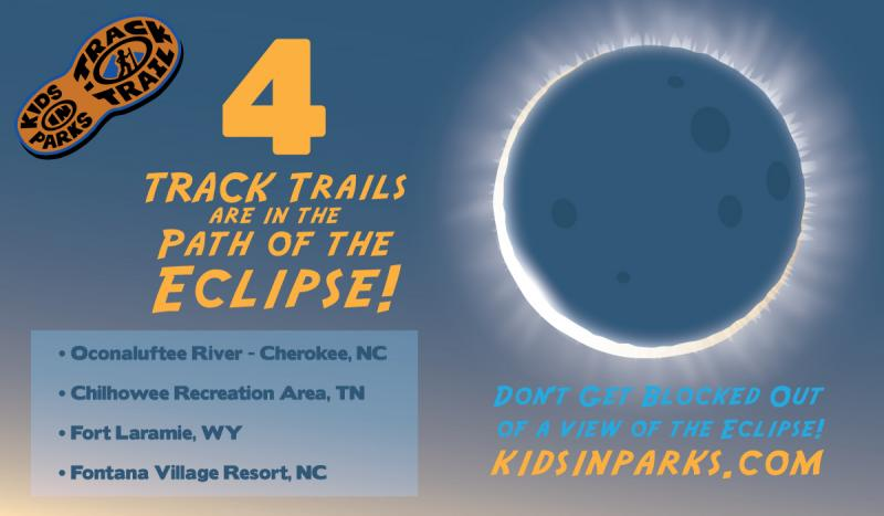 List of 4 TRACK Trails in path of the eclipse