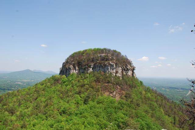 Peak of Pilot Mountain