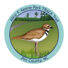 Collectible sticker for Alice F. Keene Park