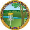 Big Sioux Recreation Area Nature Trail Disc Golf Course sticker