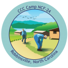 Collectible sticker for CCC Camp NCF-24