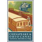 Collectible Sticker for C & O Canal