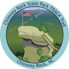Chimney Rock State Park TRACK Trail sticker
