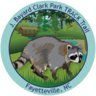 Collectible sticker for J. Bayard Clark Park and Nature Center
