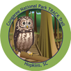 Collectible sticker for Congaree National Park