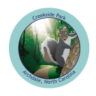 Collectible Sticker for Creekside Park
