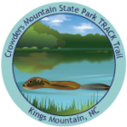 Collectible sticker for Crowders Mountain State Park