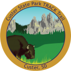 Collectible sticker for Custer State Park
