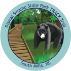 Collectible sticker for Dismal Swamp