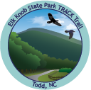 Collectible sticker for Elk Knob State Park