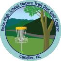 Enka High School Nature Trail Disc Golf Course sticker