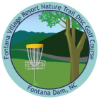 Sticker for Fontana Disc Golf Course