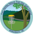 Sticker for Fort Hamby Nature Trail Disc Golf Course