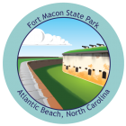 Collectible Sticker for Fort Macon State Park