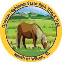 Grayson Highlands TRACK Trail sticker