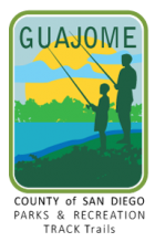 Collectible sticker for Guajome Regional Park