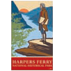 Collectible sticker for Harpers Ferry