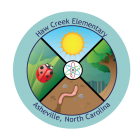 Collectible Sticker For Haw Creek Elementary