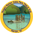 Hungry Mother State Park TRACK Trail sticker
