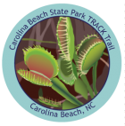 Collectible sticker for Carolina Beach