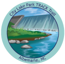 Collectible sticker for City Lake Park