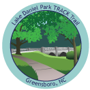 Collectible Sticker for Lake Daniel Park