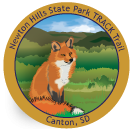 Collectible sticker for Newton Hills State Park
