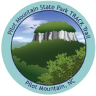 Collectible sticker for Pilot Mountain