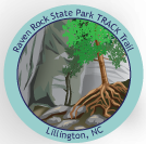 Collectible sticker for Raven Rock State Park