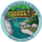 Collectible sticker for Shallow Ford Natural Area