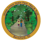 Collectible sticker for Union Grove State Park