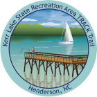 Collectible sticker for Kerr Lake State Recreation Area