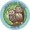 Collectible sticker for Lake Benson Park