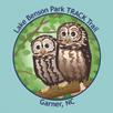 Collectible sticker for Lake Benson Park