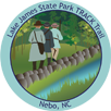 Collectible Sticker for Lake James State Park