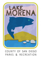 Collectible sticker for Lake Morena
