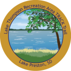 Collectible sticker for Lake Thompson