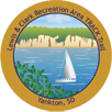 Collectible sticker for Lewis and Clark Recreation Area