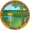Lewis and Clark Recreation Area Nature Trail Disc Golf Course sticker